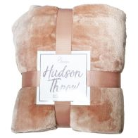 See more information about the Hudson Throw 125x150 Pale Pink