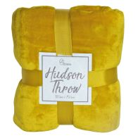 See more information about the Hudson Throw 125x150 Golden Yellow