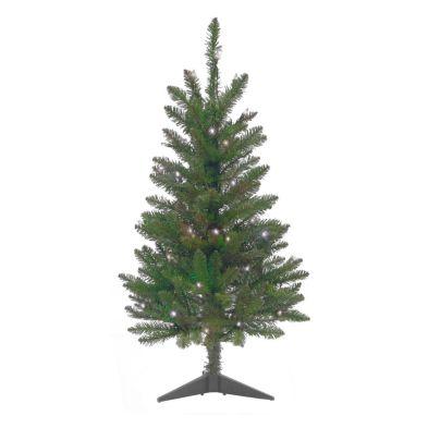 30 Inch Warm White Pre Lit Christmas Tree