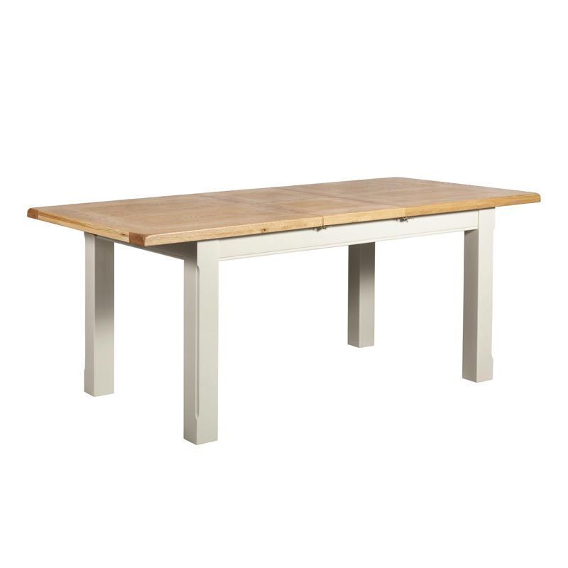 Harmony White 1.5-1.9M Extending Dining Table