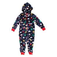 See more information about the Childs Christmas Hooded  Onezee Navy 2- 3 years