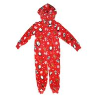 See more information about the Childs Christmas Hooded  Onezee Red 2- 3 years