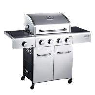 See more information about the 4 Burner Gas Outback Meteor Hooded Barbeque Stainless Steel