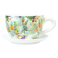 See more information about the Fiesta Tea Cup Planter