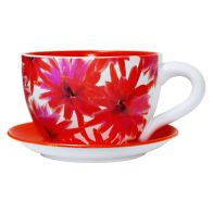 See more information about the Flower Power Design Tea Cup Planter