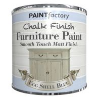 See more information about the Paint Factory Chalk Finish Furniture Matt Paint 250ml - Eggshell Blue