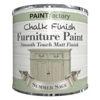 See more information about the Paint Factory Chalk Finish Furniture Matt Paint 250ml - Sage Green