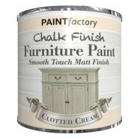 See more information about the Paint Factory Chalk Finish Furniture Matt Paint 250ml - Clotted Cream