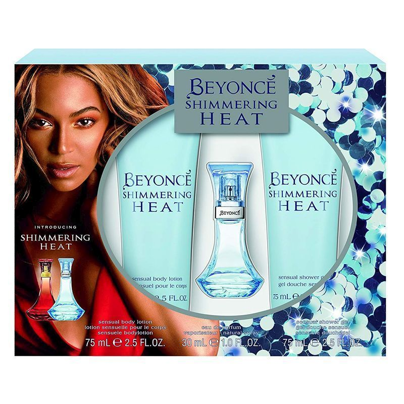See more information about the Beyonc Shimmering Heat 3 Piece Gift Set