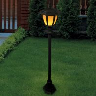 See more information about the Bright Garden Solar Flame Lamp Post Light