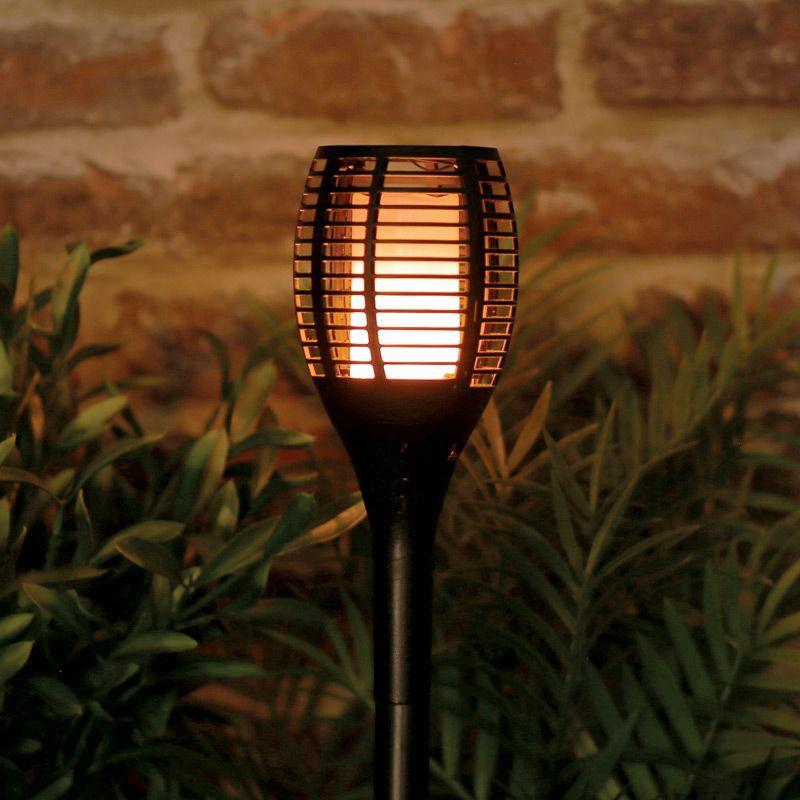 Bright Garden Tiki Torch Solar Light Buy Online At Qd Stores