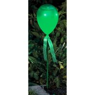 See more information about the Bright Garden Balloon Stake Solar Light - Green