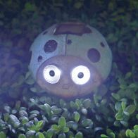 See more information about the Bright Garden Ladybug Solar Lights - Blue