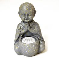 See more information about the Bright Garden Little Monk Solar Light Praying