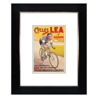 See more information about the Cycling Lea Framed Print Wall Art 10 x 8 Inch