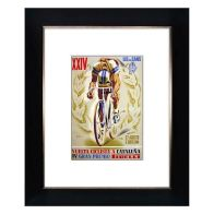 See more information about the Cycling XXIV Framed Print Wall Art 10 x 8 Inch