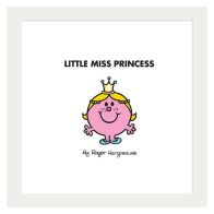 See more information about the Little Miss Princess Framed Print Wall Art 10 x 10 Inch