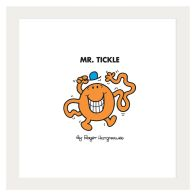 See more information about the Mr Men Mr Tickle Framed Print Wall Art 10 x 10 Inch