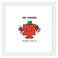 See more information about the Mr Men Mr Strong Framed Print Wall Art 10 x 10 Inch