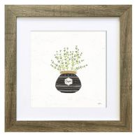 See more information about the Herbs Thyme Framed Print Wall Art 10 x 10 Inch