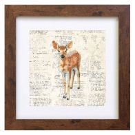 See more information about the Woodland Animals Deer Framed Print Wall Art 10 x 10 Inch