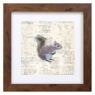 See more information about the Woodland Animals Squirrel Framed Print Wall Art 10 x 10 Inch