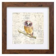 See more information about the Woodland Animals Owl Framed Print Wall Art 10 x 10 Inch