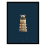 See more information about the Sci-Fi Costumes Dr Who Dalek Framed Print Wall Art 14 x 11 Inch