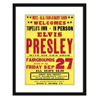 See more information about the Concert Poster Elvis Presley Framed Print Wall Art 16 x 12 Inch