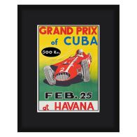 See more information about the Grand Prix Poster Cuba Framed Print Wall Art 16 x 12 Inch