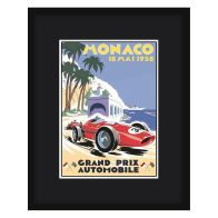 See more information about the Grand Prix Poster Monaco Framed Print Wall Art 16 x 12 Inch