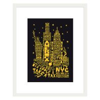 See more information about the Citography New York Framed Print Wall Art 16 x 12 Inch