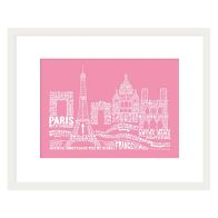 See more information about the Citography Paris Framed Print Wall Art 16 x 12 Inch