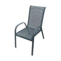 See more information about the Croft Single Sling Chair Black