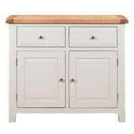 See more information about the Harmony White 2 Doors 2 Drawers Sideboard