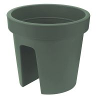 See more information about the 28cm Balcony Flower Pot Green