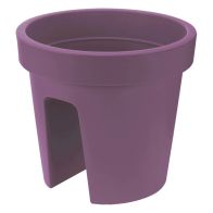 See more information about the 28cm Balcony Flower Pot Purple