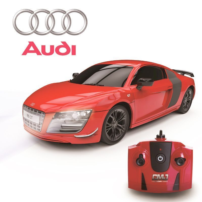 Audi R8 GT Limited Edition Red Radio Controlled 2.4Ghz 124 Scale