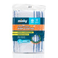 See more information about the Minky Traditional Dish Cloth 2 Pack
