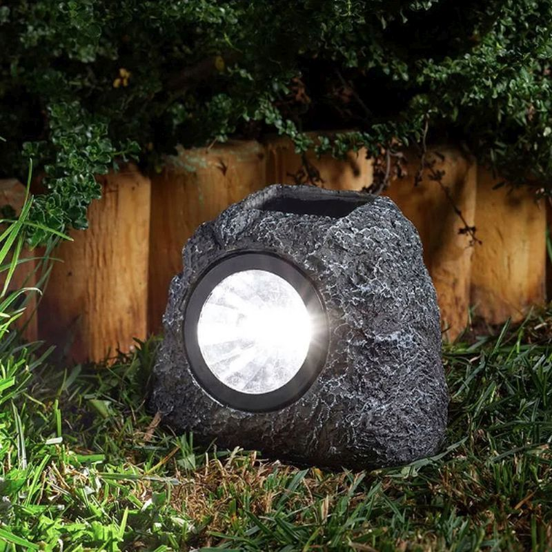 4 Pack of Rock Solar Lights 3L