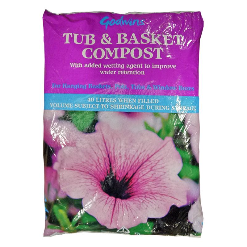 Goodwins Tub and Basket Compost (40 Litre)