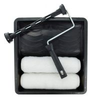 See more information about the Task Partner 9 Inch Paint Roller Set With Tray & Two Sleeves