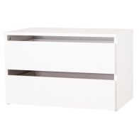 See more information about the 2 Drawer Wide White Chest