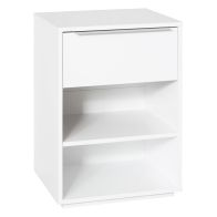 See more information about the Malaga 1 Drawer Bedside Chest White