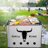 See more information about the 12 Inch Rectangular Grill King BBQ