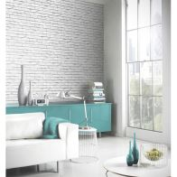 See more information about the White Brick Wallpaper