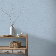 See more information about the Linen Denim Wallpaper