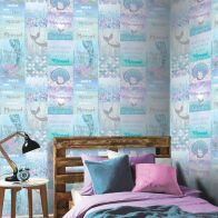 See more information about the Mermaizing Ice Blue Wallpaper