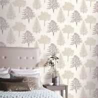 See more information about the Diamond Tree Neutral Wallpaper