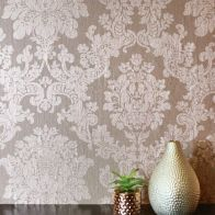 See more information about the Foil Damask Rose Gold Wallpaper